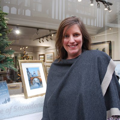 Alison at her Chester gallery