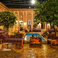 Orient hotel courthyard