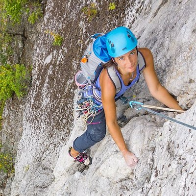Rock Climbing and Rappelling in VA, NC, and WV!