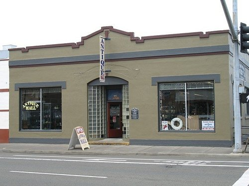 Front of store entrance