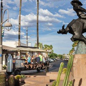 Party bike tour of Scottsdale, AZ