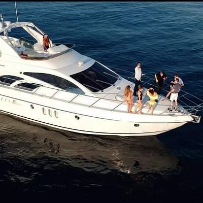 60' UNIQ Azimut Yacht | Malibu Cruise | leaving from Marina Del Rey - up to 12 people