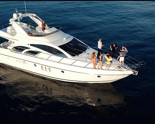 60' UNIQ Azimut Yacht   Malibu Cruise   leaving from Marina Del Rey - up to 12 people