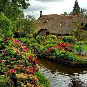 Beautifull farmhouse with hydrencias