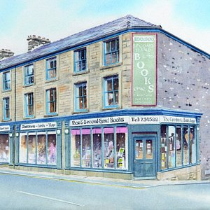 Watercolour Painting of the Shop