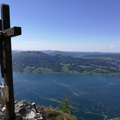 Mahdlgupf peak: the end of via ferrata