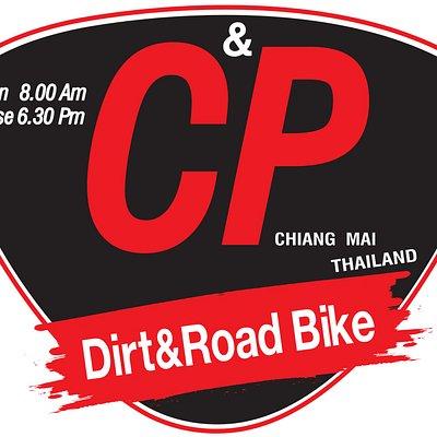 This is logo C&P big bike Chiangmai.