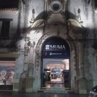 Pórtico del viejo Mercado, hoy Museo Municipal de Arte Angel María de Rosa