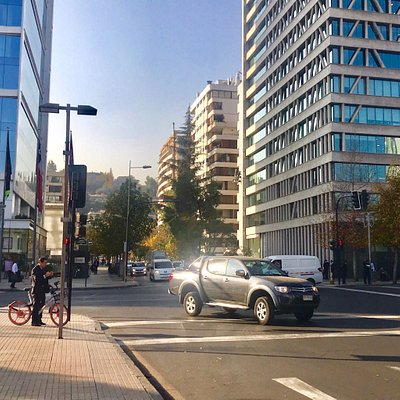 Beautiful, peaceful, modern and elegant neighbourhood. There's Plaza Perú, which is a nice small