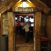 the entrance to Bavarian