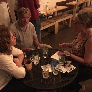 Loon bar scene May 2018