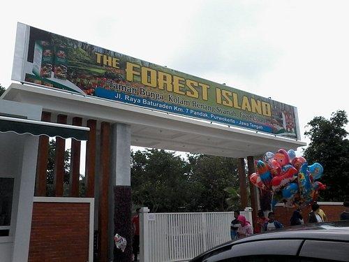 Gerbang masuk & tiket The Forest Island