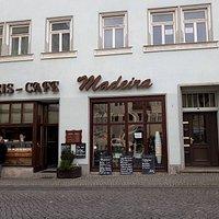 Eis-Café Madeira, Lutherstadt Eisleben, Alemania.