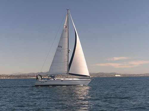 A great day sail from Oceanside, Ca.