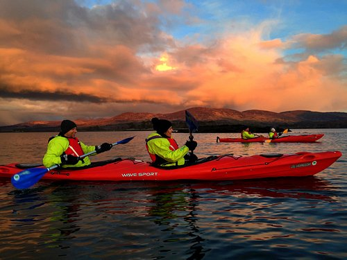 Paddle through the sunset and experience a magical display of bioluminescence.