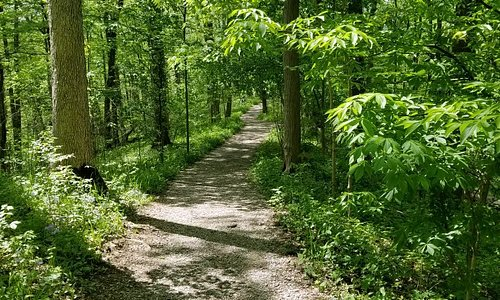 Great walking trails,  and beautiful scenery.