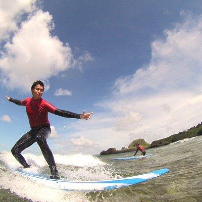いざ!サーフィン体験!
