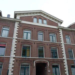 entree;Concordiahofje Noord aan de Westerstraat 221-289