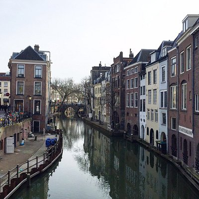 One of the most photgraphed spots in Utrecht