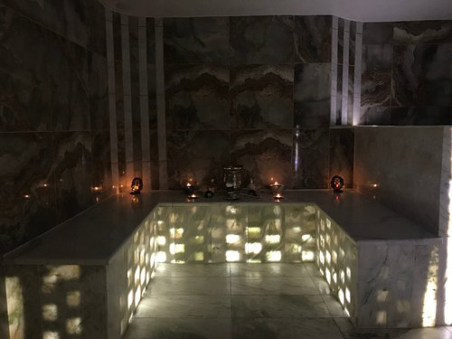 Our New Beautifully built Hammam Steam Room!