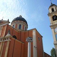 basilica minore di San Marco, leone di Venezia, torre civica, Boretto
