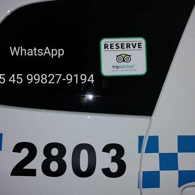 Táxi foz do iguaçu