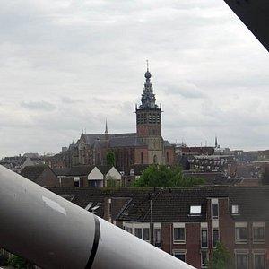 Nijmegen, seen from the train