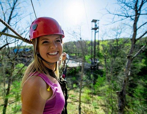 Zip through the beautiful Ozark Mountains!
