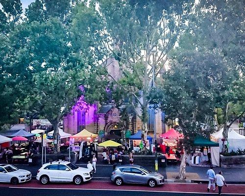 Christmas night Markets, held annually.