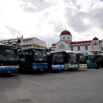 Rethymnon KTEL busses