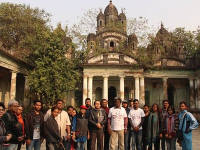 Tollygunge Heritage Walk on 24th Dec 2017