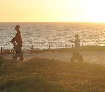 Riding along the cliffs and slopes of the Best Protected Coast of Southern Europe.