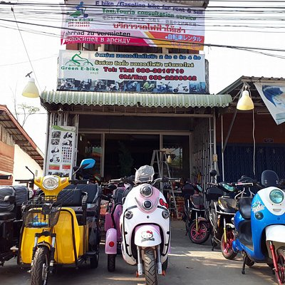 Green e bike sukhothai-electric bike for rent