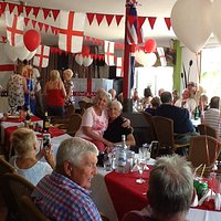 St Georges day celebrations.