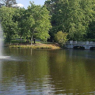 A beautiful, hidden park in the heart of Buckhead.