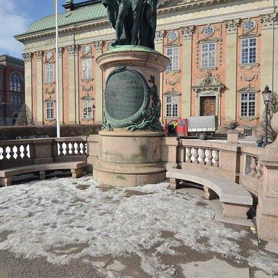 Памятник Густаву Васа, Стокгольм