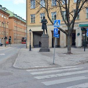 Памятник Ларсу Йохану Йерта, Стокгольм