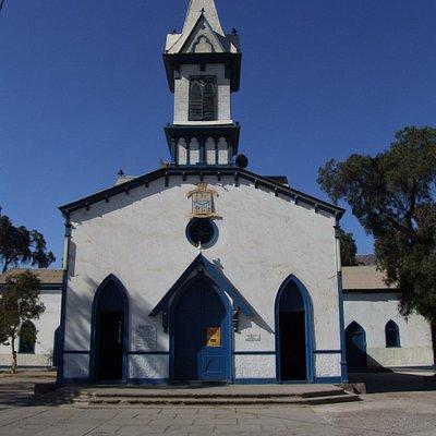 Frontis de la Parroquia Nuestra Señora de la Candelaria, Copiapó.