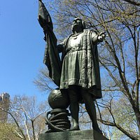 Christopher Columbus statue in Central Park