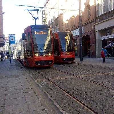 Trams św. Jana Katowice