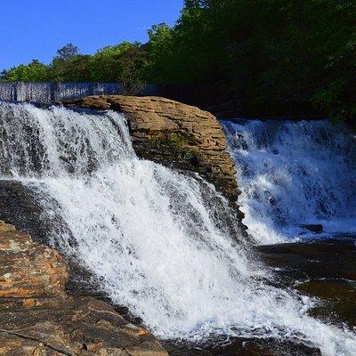 Top part of the falls