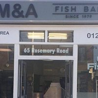 Michael,Athy and family would like to welcome you to M&A Fish bar,established in 1979. Specializ