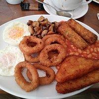 vegetarian breakfast