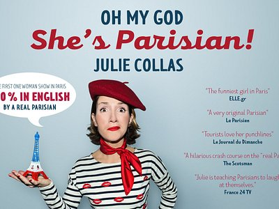 """Oh my god she's Parisian!"" the NEW show 100% in English!Be more Parisians than the real Parisi"