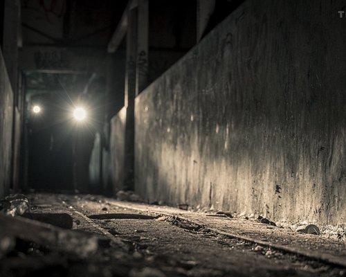 Dans l'abattoir abandonné.