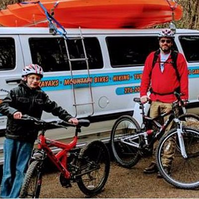 Mountain bike tours for all ages.