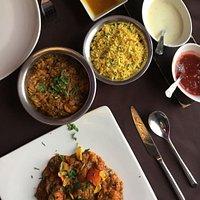 methi murghi zeerano and south indian garlic chilli chicken