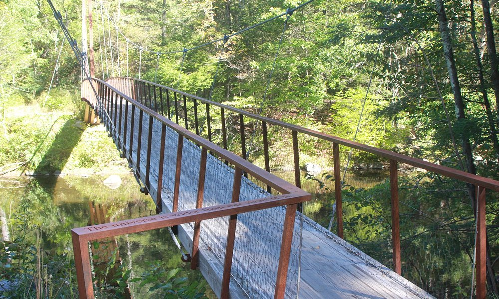 views of iron bridge
