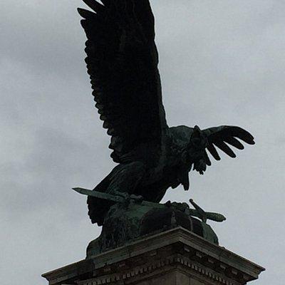 The Turul Bird and its sword