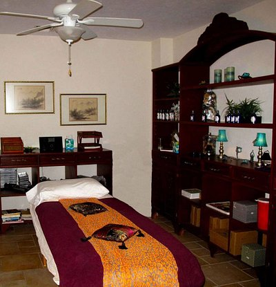 Tranquil treatment room